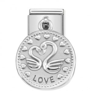 Nomination Classic Silvershine LOVE Charm 331804/08