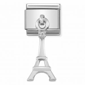 Nomination Classic Silvershine Eiffel Tower Charm 331880/01