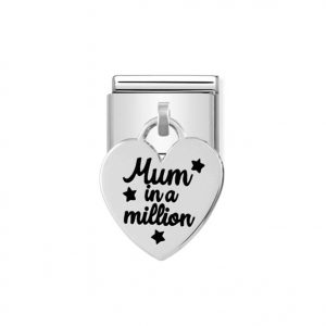 Nomination Silvershine Mum in a Million Charm 331811/02