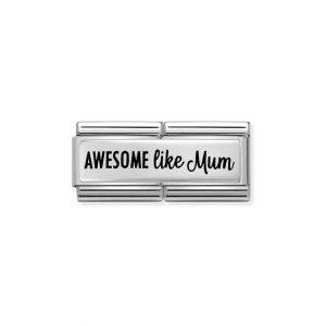 Nomination Silvershine Awesome Like Mum Double Charm 330711/01