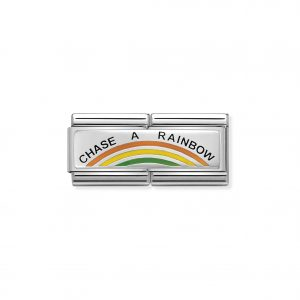 Nomination Chase A Rainbow Double Charm 330721/02