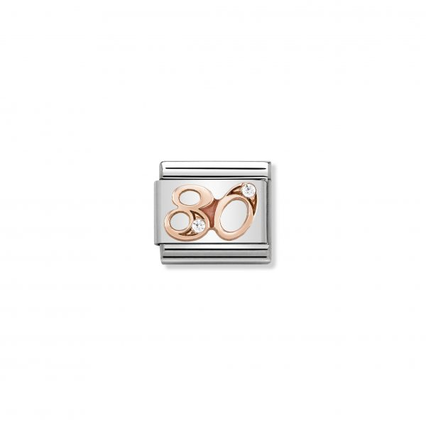 Nomination 9ct Rose Gold 80 Charm 430315/80