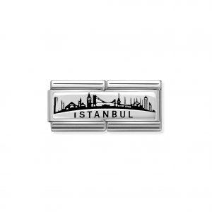 Nomination Silvershine Istanbul Skyline Double Charm 330790/03