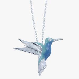 Humming Bird Silver Pendant ACRRBB24